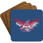 DHS Wings and Badge Coaster Set (Personalized)