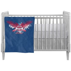 DHS Wings and Badge Crib Comforter / Quilt (Personalized)
