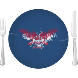 DHS Wings and Badge Glass Lunch / Dinner Plate 10