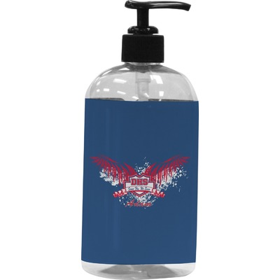 DHS Wings and Badge Plastic Soap / Lotion Dispenser (Personalized)