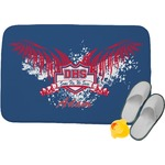 DHS Wings and Badge Memory Foam Bath Mat (Personalized)