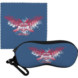 DHS Wings and Badge Eyeglass Case & Cloth (Personalized)