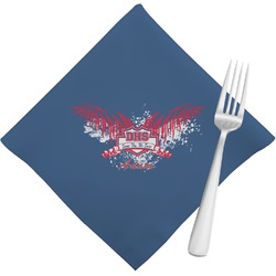 DHS Wings and Badge Napkins (Set of 4) (Personalized)