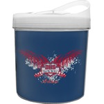 DHS Wings and Badge Plastic Ice Bucket (Personalized)
