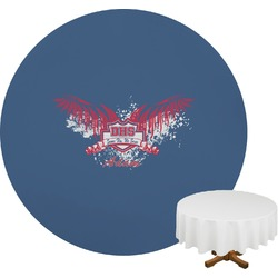 DHS Wings and Badge Round Tablecloth (Personalized)