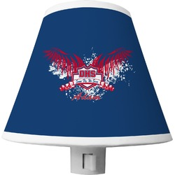 DHS Wings and Badge Shade Night Light (Personalized)