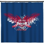 DHS Wings and Badge Shower Curtain (Personalized)