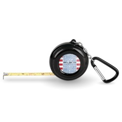 Labor Day Pocket Tape Measure - 6 Ft w/ Carabiner Clip (Personalized)