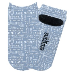 Labor Day Adult Ankle Socks (Personalized)