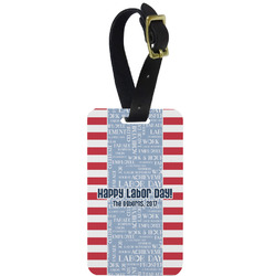 Labor Day Aluminum Luggage Tag (Personalized)