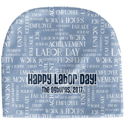 Labor Day Baby Hat (Beanie) (Personalized)