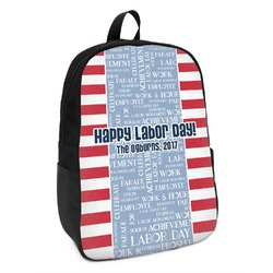 Labor Day Kids Backpack (Personalized)