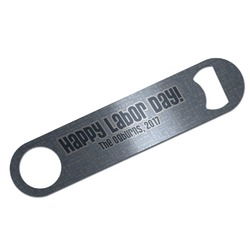 Labor Day Bar Bottle Opener (Personalized)