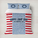 Labor Day Duvet Covers (Personalized)