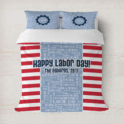 Labor Day Duvet Cover (Personalized)