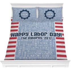 Labor Day Comforters (Personalized)