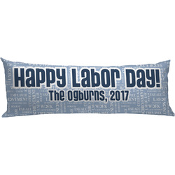 Labor Day Body Pillow Case (Personalized)