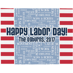 Labor Day Placemat (Fabric) (Personalized)