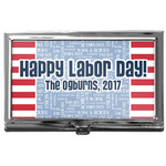 Labor Day Business Card Case