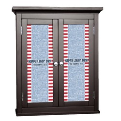 Labor Day Cabinet Decal - Custom Size (Personalized)