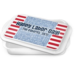 Labor Day Cake Pan (Personalized)