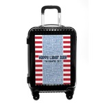 Labor Day Carry On Hard Shell Suitcase (Personalized)