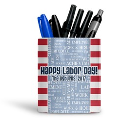 Labor Day Ceramic Pen Holder