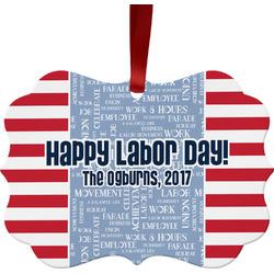 Labor Day Ornament (Personalized)
