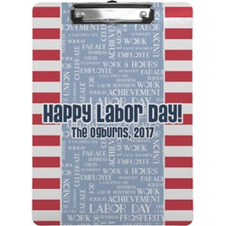 Labor Day Clipboard (Personalized)