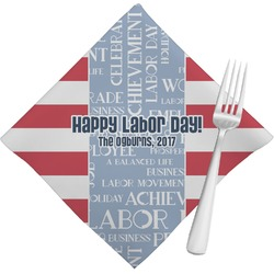 Labor Day Napkins (Set of 4) (Personalized)