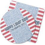 Labor Day Rubber Backed Coaster (Personalized)