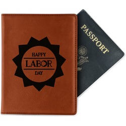 Labor Day Leatherette Passport Holder (Personalized)