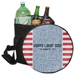 Labor Day Collapsible Cooler & Seat (Personalized)