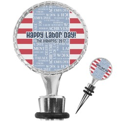 Labor Day Wine Bottle Stopper (Personalized)