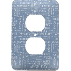 Labor Day Electric Outlet Plate (Personalized)