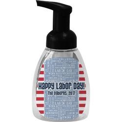 Labor Day Foam Soap Dispenser (Personalized)