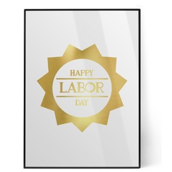 Labor Day Foil Print (Personalized)