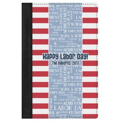 Labor Day Genuine Leather Passport Cover (Personalized)