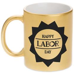Labor Day Gold Mug (Personalized)