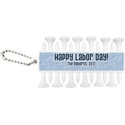 Labor Day Golf Tees & Ball Markers Set (Personalized)