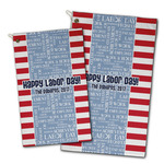 Labor Day Golf Towel - Full Print w/ Name or Text
