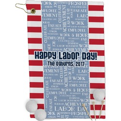Labor Day Golf Towel - Full Print (Personalized)