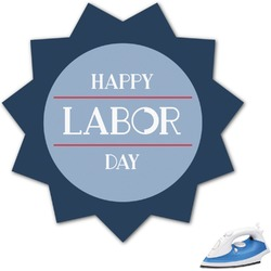 Labor Day Graphic Iron On Transfer (Personalized)