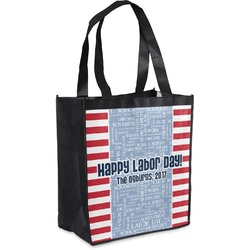 Labor Day Grocery Bag (Personalized)