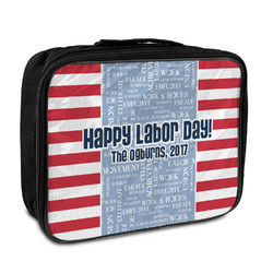 Labor Day Insulated Lunch Bag (Personalized)