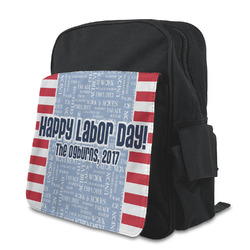 Labor Day Preschool Backpack (Personalized)