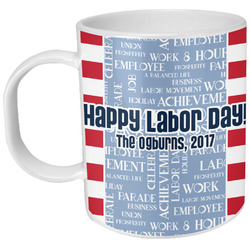 Labor Day Plastic Kids Mug (Personalized)