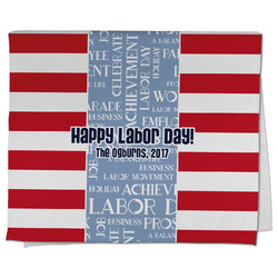 Labor Day Kitchen Towel - Full Print (Personalized)