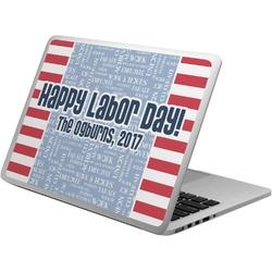 Labor Day Laptop Skin - Custom Sized (Personalized)