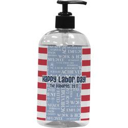 Labor Day Plastic Soap / Lotion Dispenser (Personalized)